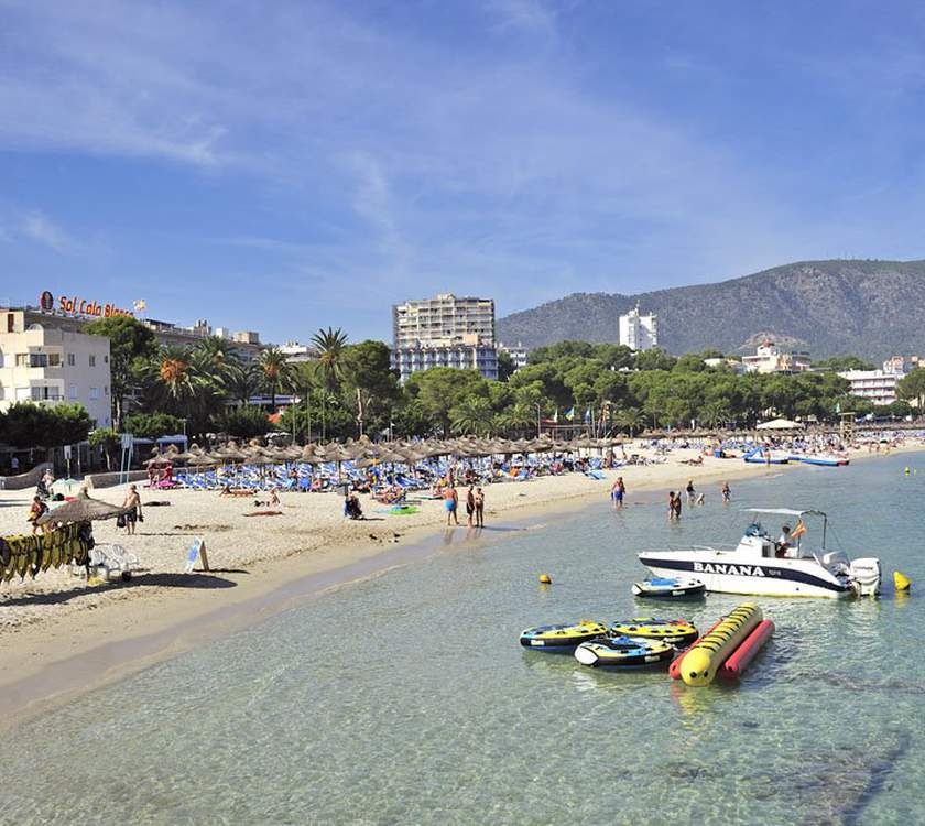 Surroundings: magaluf beach ca's saboners beach aparthotel palmanova