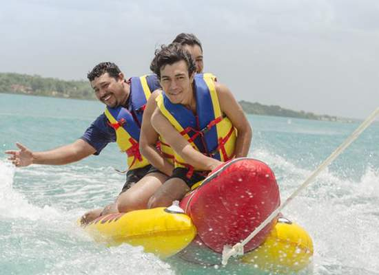 Water sports in Magaluf Ca's Saboners Beach Aparthotel Palmanova